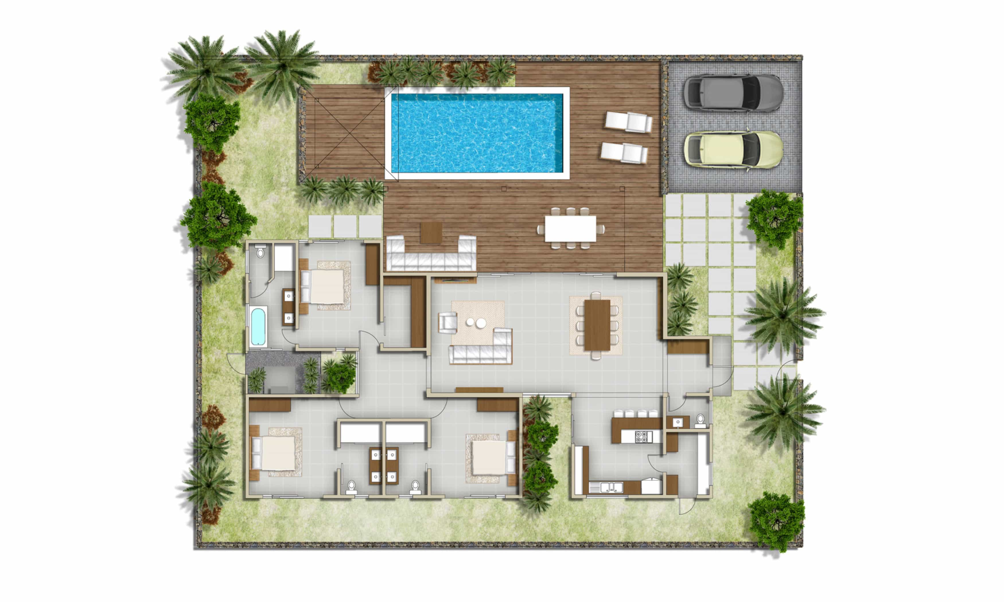 Villa saya pereybere for sales in mauritius res project deluxe real estate